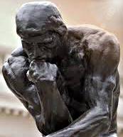 Il pensatore – Bronzo del 1902 di Auguste Rodin (1840 -1917)