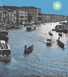 Venezia – Vista dal Ponte di Rialto – 1960 – Ernesto Giorgi ©